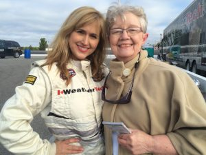 Jennifer, Breakfast Television and SUnset Speedway